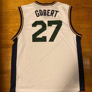 Utah Jazz Jersey Sleeveless Rudy Gobert Basketball